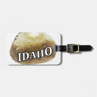 Idaho spud luggage tag
