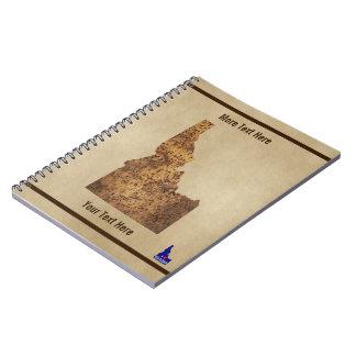 Idaho Spud Map Notebook