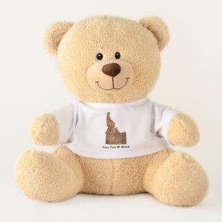 Idaho Spud Map Teddy Bear