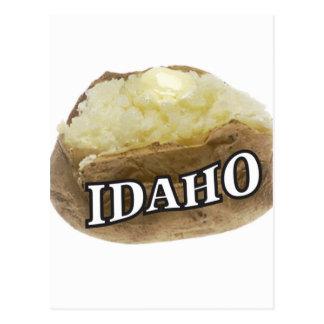 Idaho spud postcard