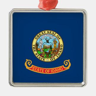 Idaho State Flag Metal Ornament