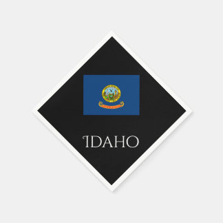 Idaho State Flag Paper Napkins by Janz