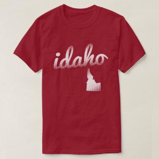 Idaho state in white T-Shirt