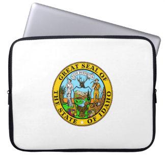Idaho state seal america republic symbol flag laptop sleeve