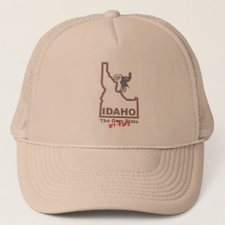 IDAHO The OFF-ROAD State, Motorcycle. Hat