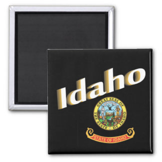 Idaho USA State Travel Souvenir Fridge Magnet