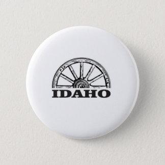 Idaho wagon wheel 2 inch round button