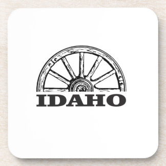 Idaho wagon wheel coaster