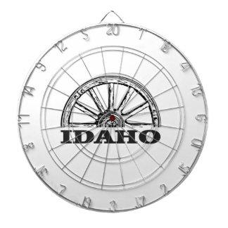 Idaho wagon wheel dartboard