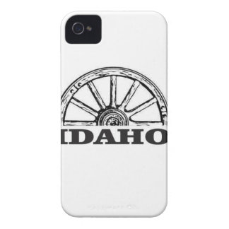 Idaho wagon wheel iPhone 4 Case-Mate case