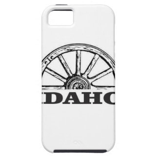Idaho wagon wheel iPhone 5 case