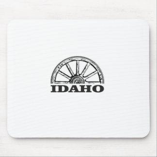 Idaho wagon wheel mouse pad