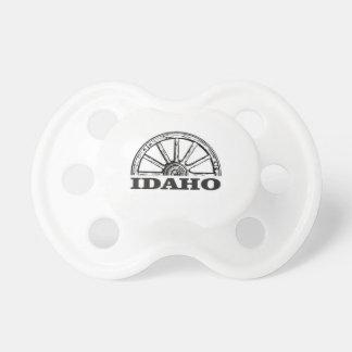Idaho wagon wheel pacifier