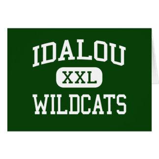 Idalou - Wildcats - High School - Idalou Texas Card