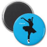 iDance (Blue) 2 Inch Round Magnet