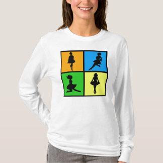 iDance Irish Dancer Silhouettes T-Shirt