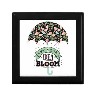 Idea Bloom Umbrella Gift Box