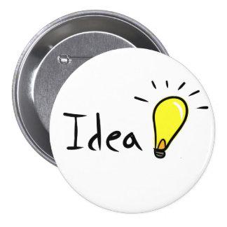 Idea 3 Inch Round Button