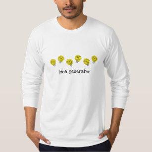 Idea Generator Lightbulbs Long Sleeve T-Shirt