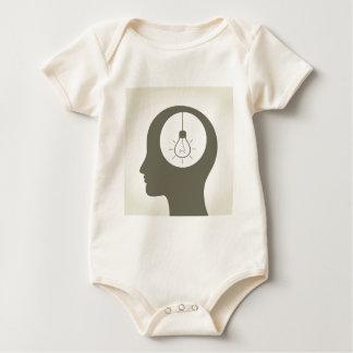 Idea in a head baby bodysuit