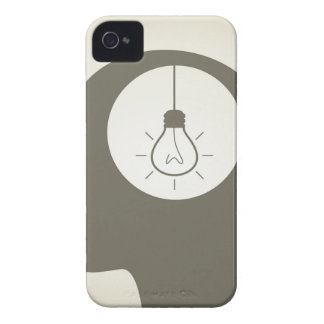 Idea in a head iPhone 4 case