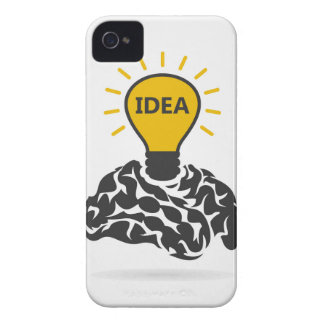 Idea of a brain iPhone 4 case