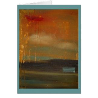 idea of a landscape card