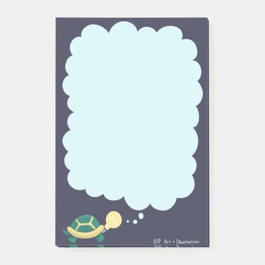 Idea Turtle Post-it Notes
