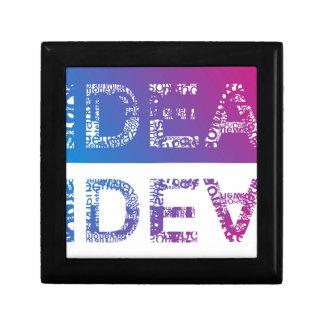 IDEA - typographic Gift Box