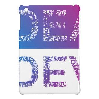 IDEA - typographic iPad Mini Case