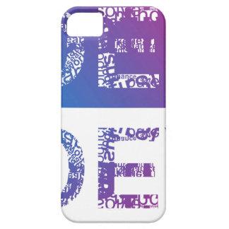 IDEA - typographic iPhone 5 Case