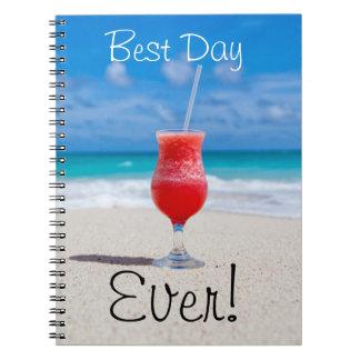 Ideal Beach Vacation Notebook