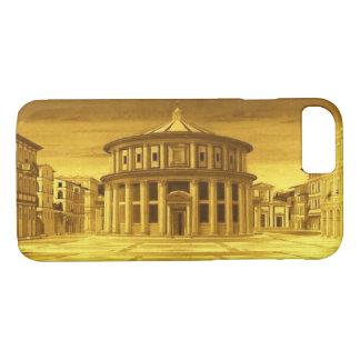 IDEAL CITY Renaissance Architect ,Gold Yellow iPhone 8/7 Case