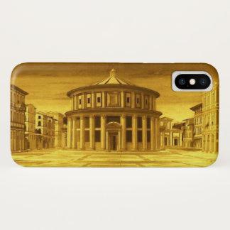 IDEAL CITY Renaissance Architect ,Gold Yellow iPhone X Case