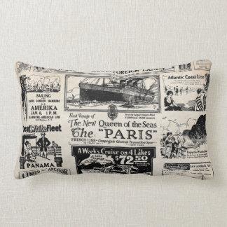 Ideal Cruises to Foreign Lands Lumbar Pillow