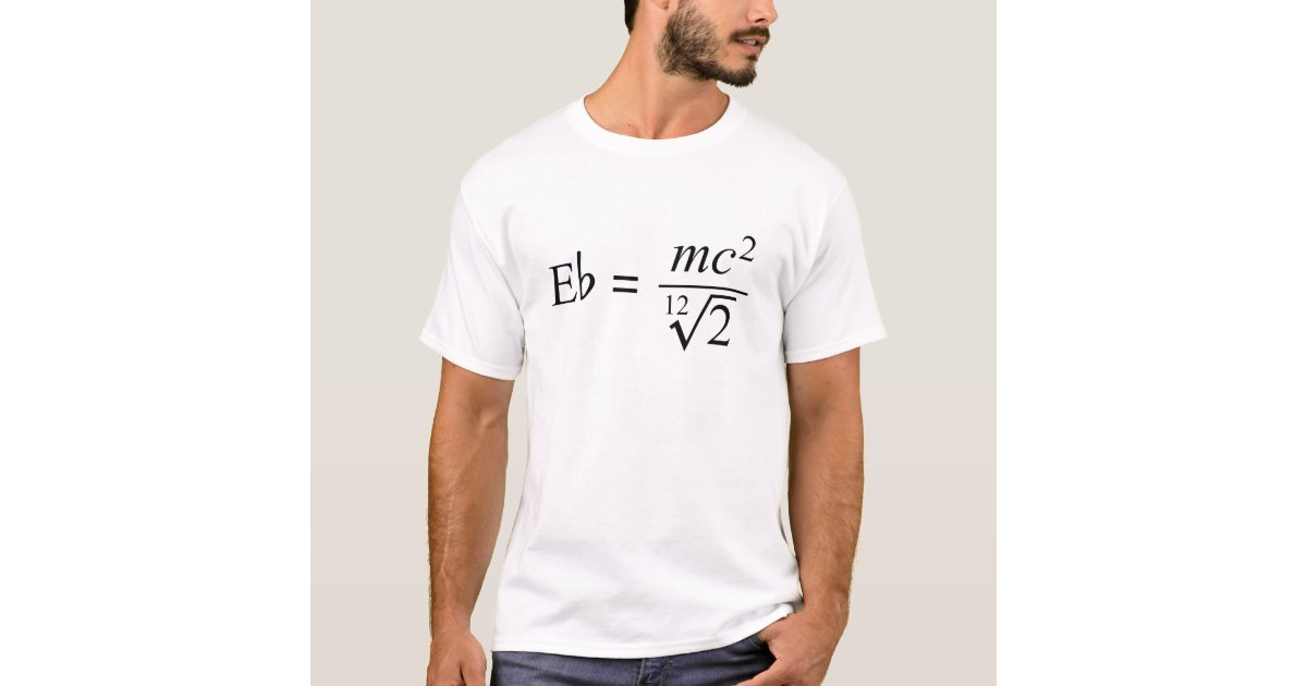 Ideal For The Music And Science Geek T Shirt