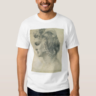 Ideal Head of a Woman by Michelangelo Tee Shirts