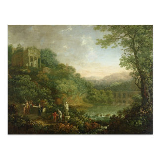 Ideal Landscape, 1776 Postcard