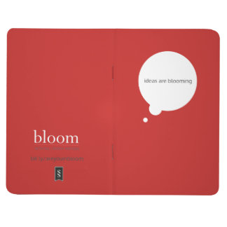 """""""Ideas are Blooming"""" Blank Journal"""
