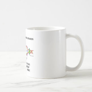 Ideas Are Like DNA Strands Leading & Lagging Coffee Mug