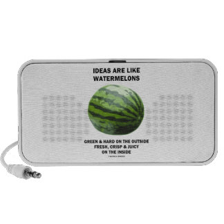 Ideas Are Like Watermelons Food For Thought Mp3 Speaker