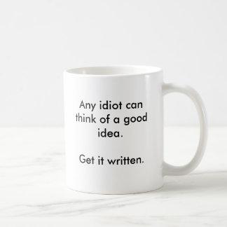 Ideas Come Easy Coffee Mug