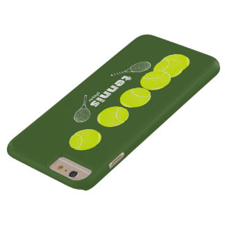 ideas for a tennis player barely there iPhone 6 plus case
