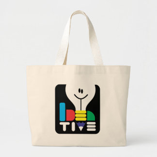 ideative large tote bag