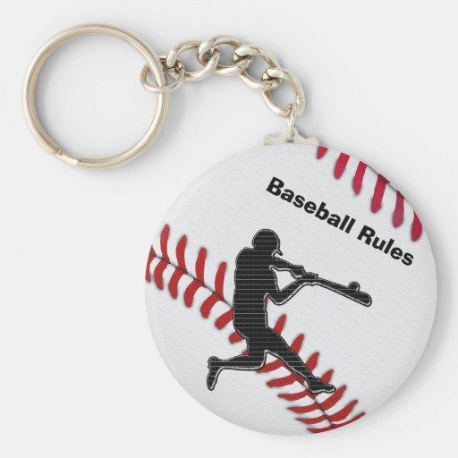 Idées peu coûteuses de cadeau d'équipe de baseball porte-clefs