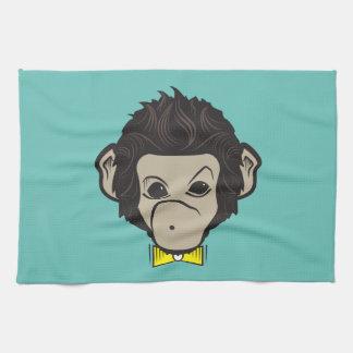 identica de singe serviettes pour les mains