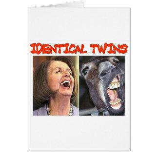 IDENTICAL TWINS CARD