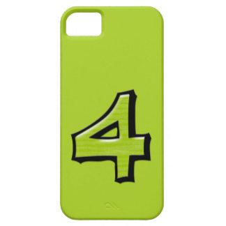 Identification verte de Coque-Compagnon d'iPhone Coque iPhone 5