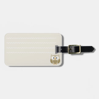Identificatory label of luggage corujinha luggage tag
