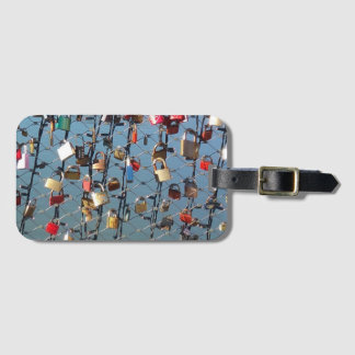 Identifier of Locked suitcases Bag Tag